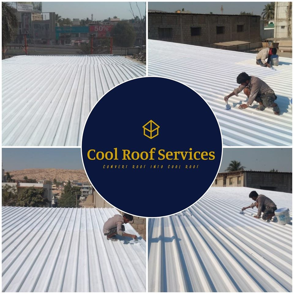 Container Roof Heat Proofing