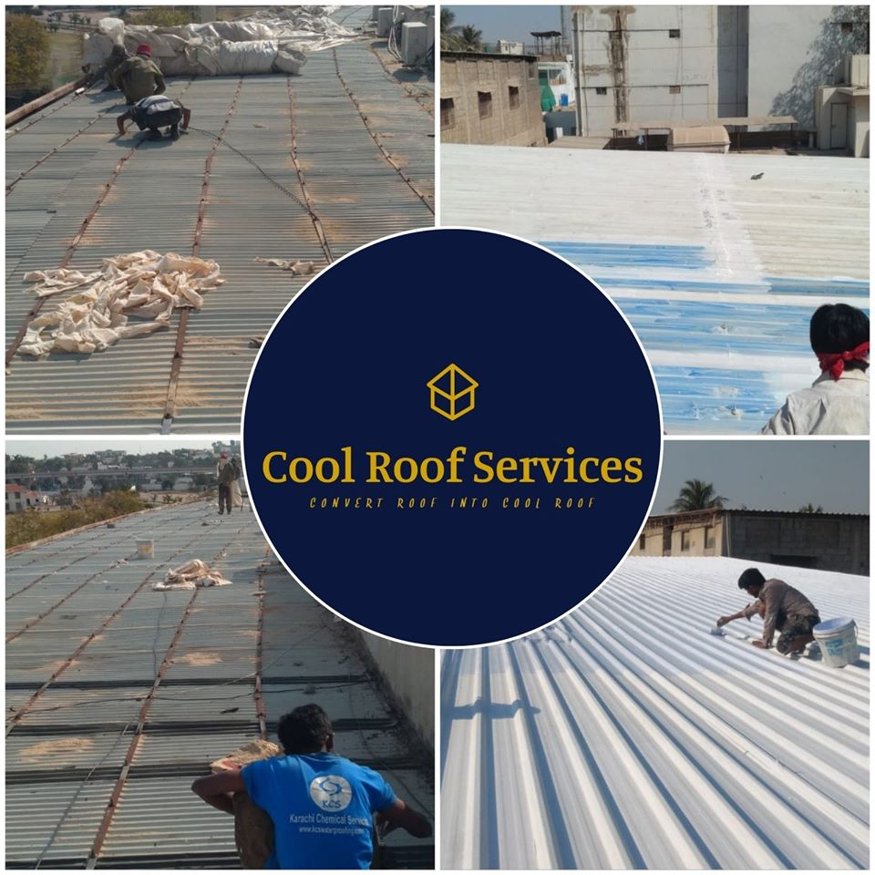 Factory Roof Heat Proofing